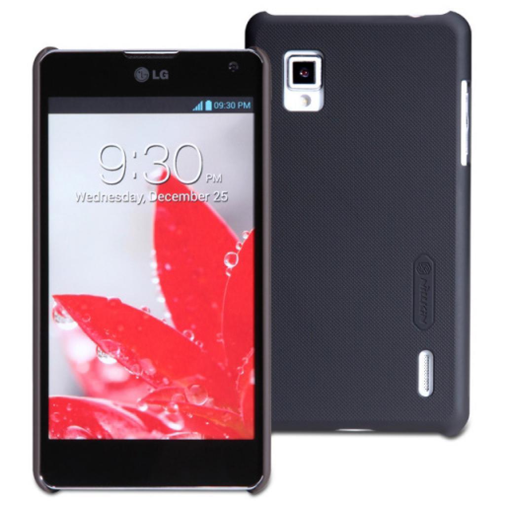 Чехол для моб. телефона NILLKIN для LG E975 /Super Frosted Shield/Black (6065753)