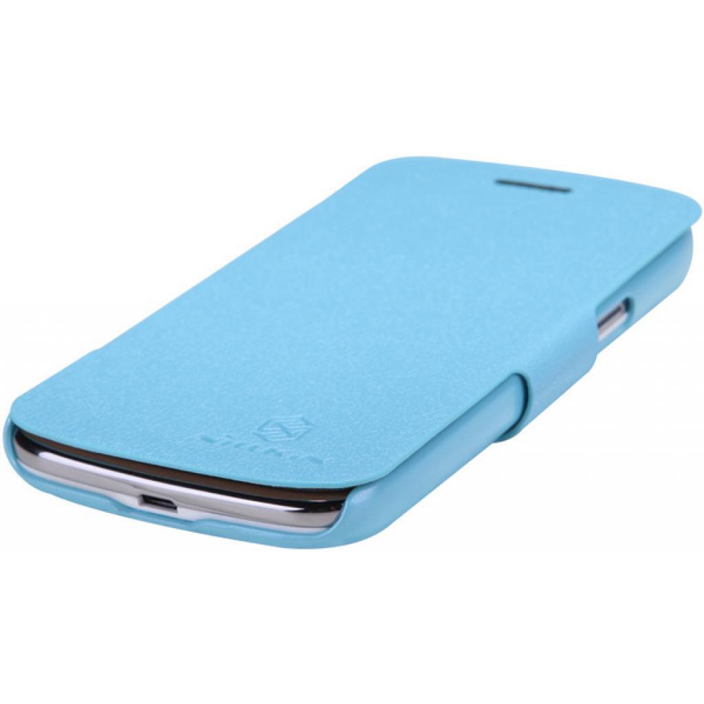 Чехол для моб. телефона NILLKIN для Samsung I8262 /Fresh/ Leather/Blue (6076964) изображение 2