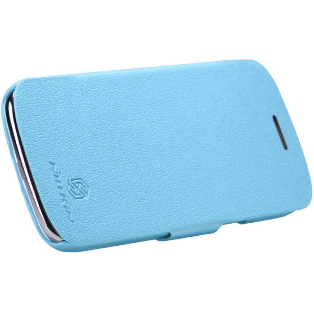 Чехол для моб. телефона NILLKIN для Samsung I8262 /Fresh/ Leather/Blue (6076964) изображение 3