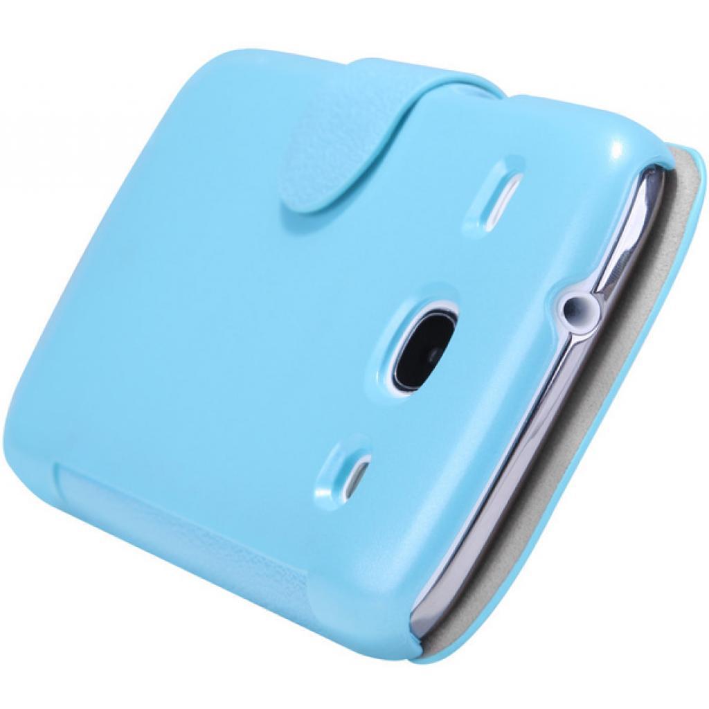 Чехол для моб. телефона NILLKIN для Samsung I8262 /Fresh/ Leather/Blue (6076964) изображение 4