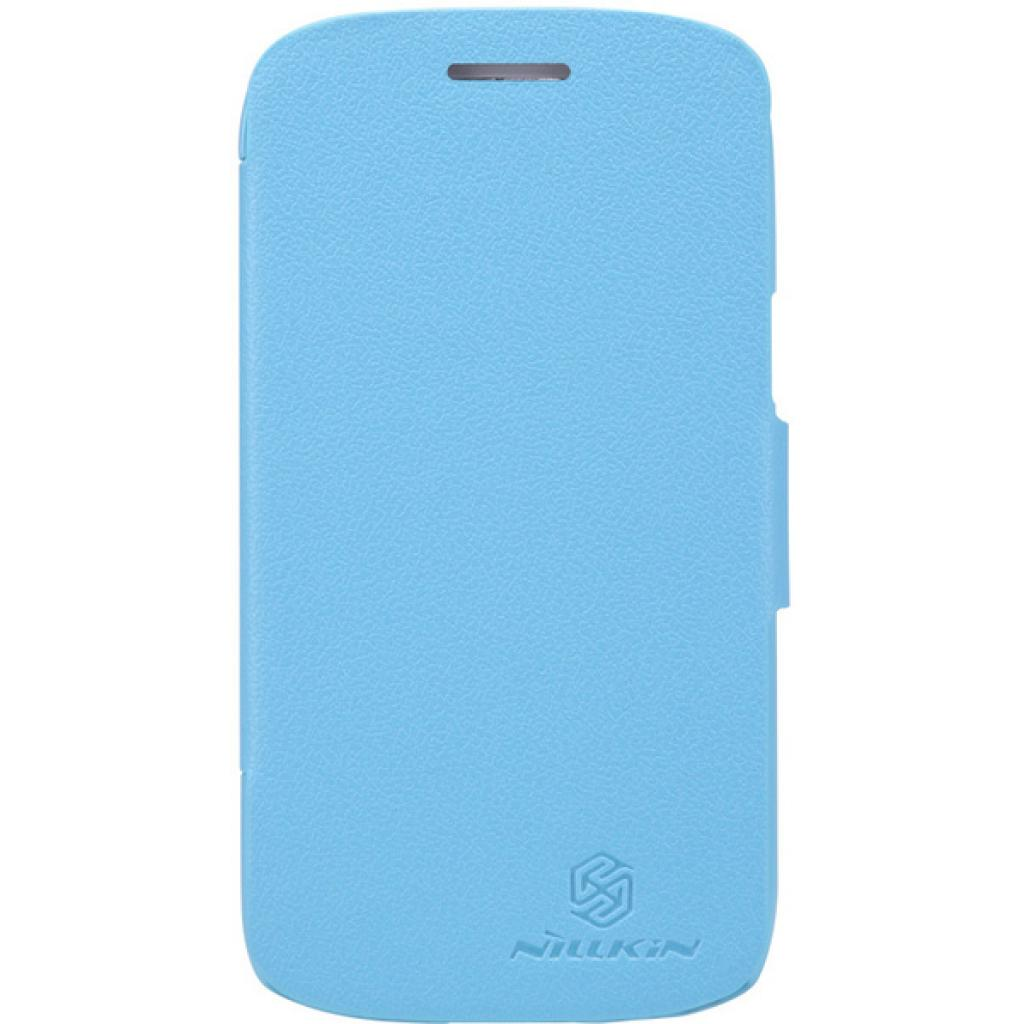 Чехол для моб. телефона NILLKIN для Samsung I8262 /Fresh/ Leather/Blue (6076964)