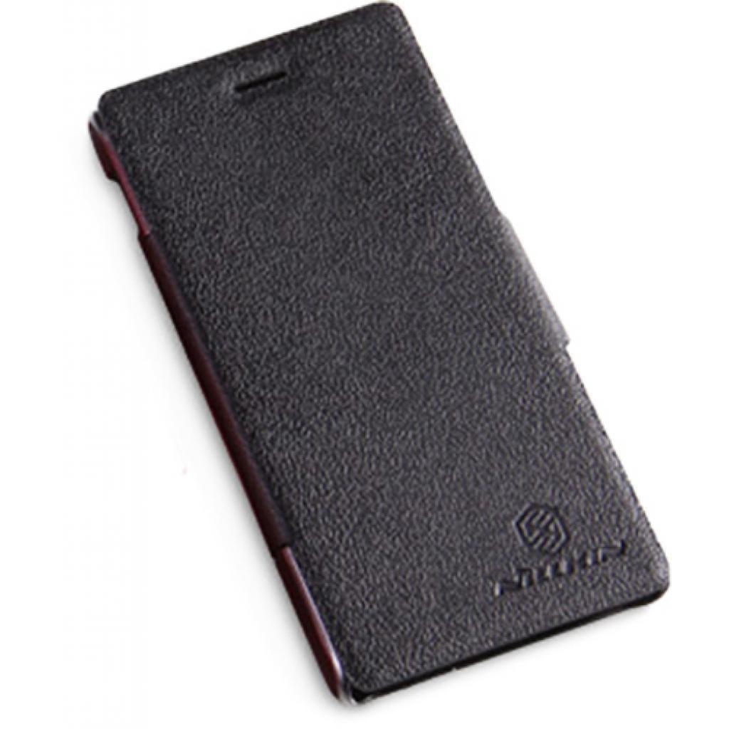 Чехол для моб. телефона NILLKIN для Sony Xperia M /Fresh/ Leather/Black (6104005)