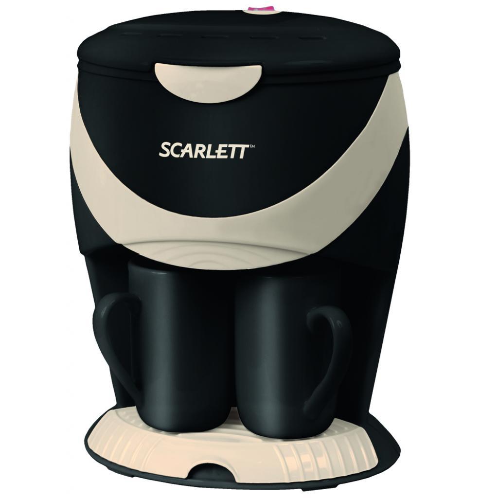 Кофеварка SCARLETT SC-1032 black