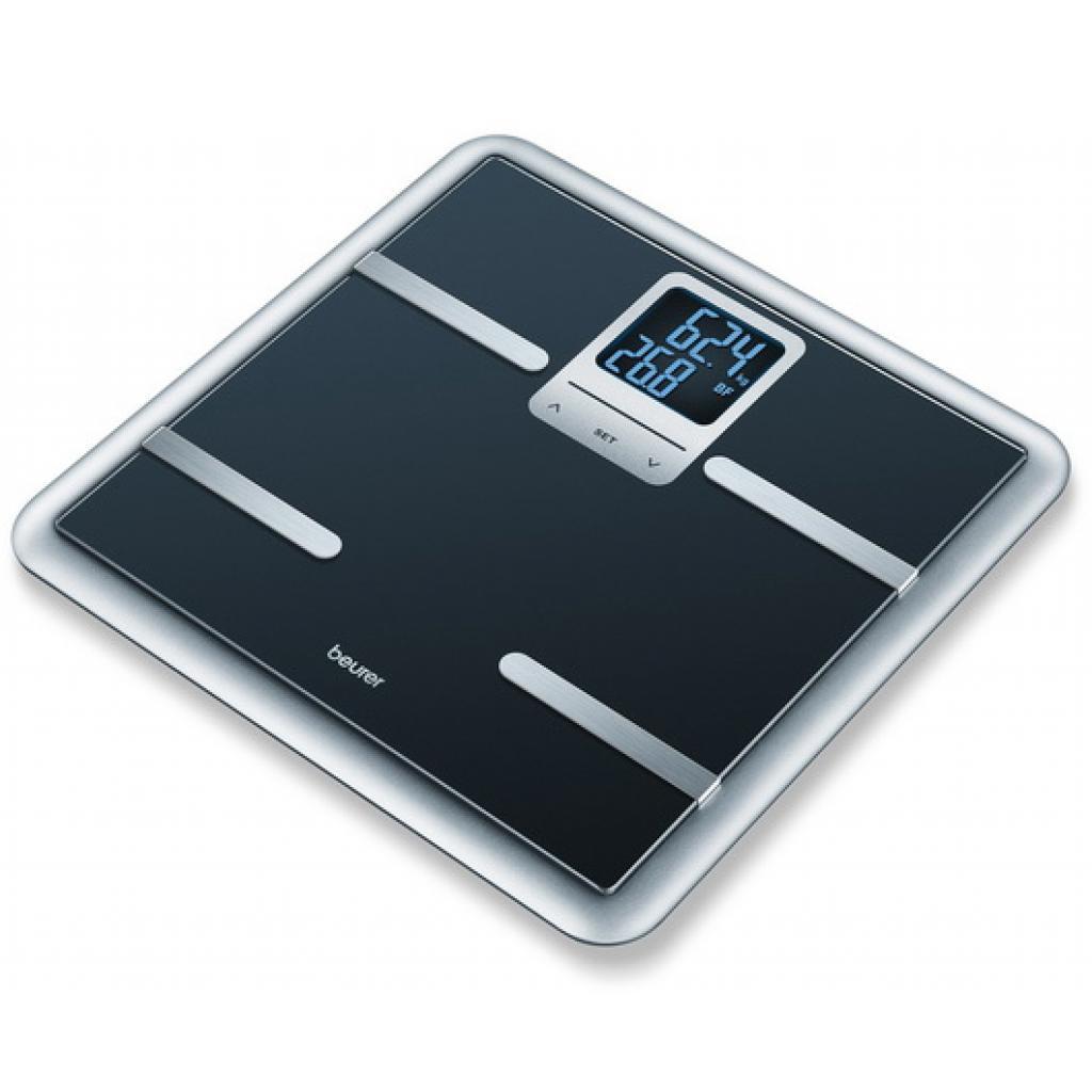 Весы напольные BEURER BG 40 Black (4211125/761.06/6)