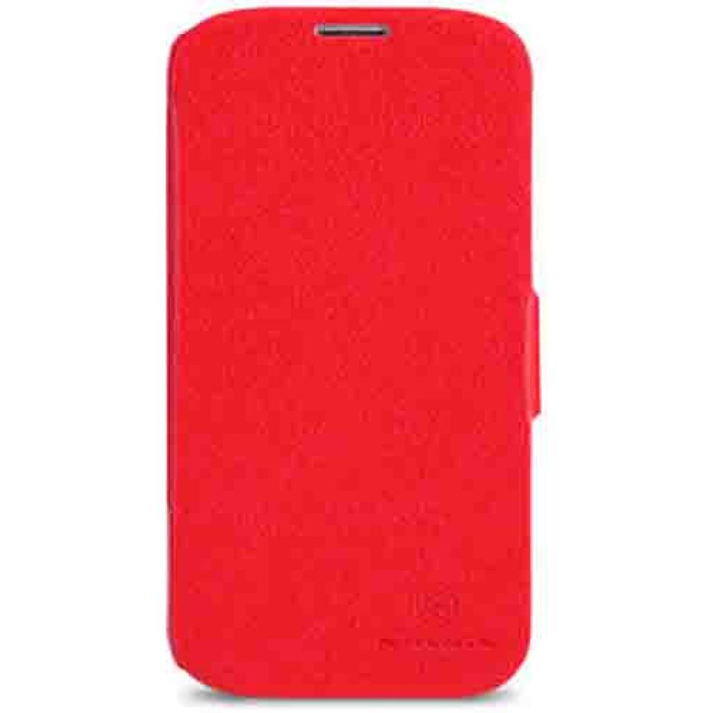 Чехол для моб. телефона NILLKIN для Samsung G900/S-5/Fresh/ Leather/Red (6135311)