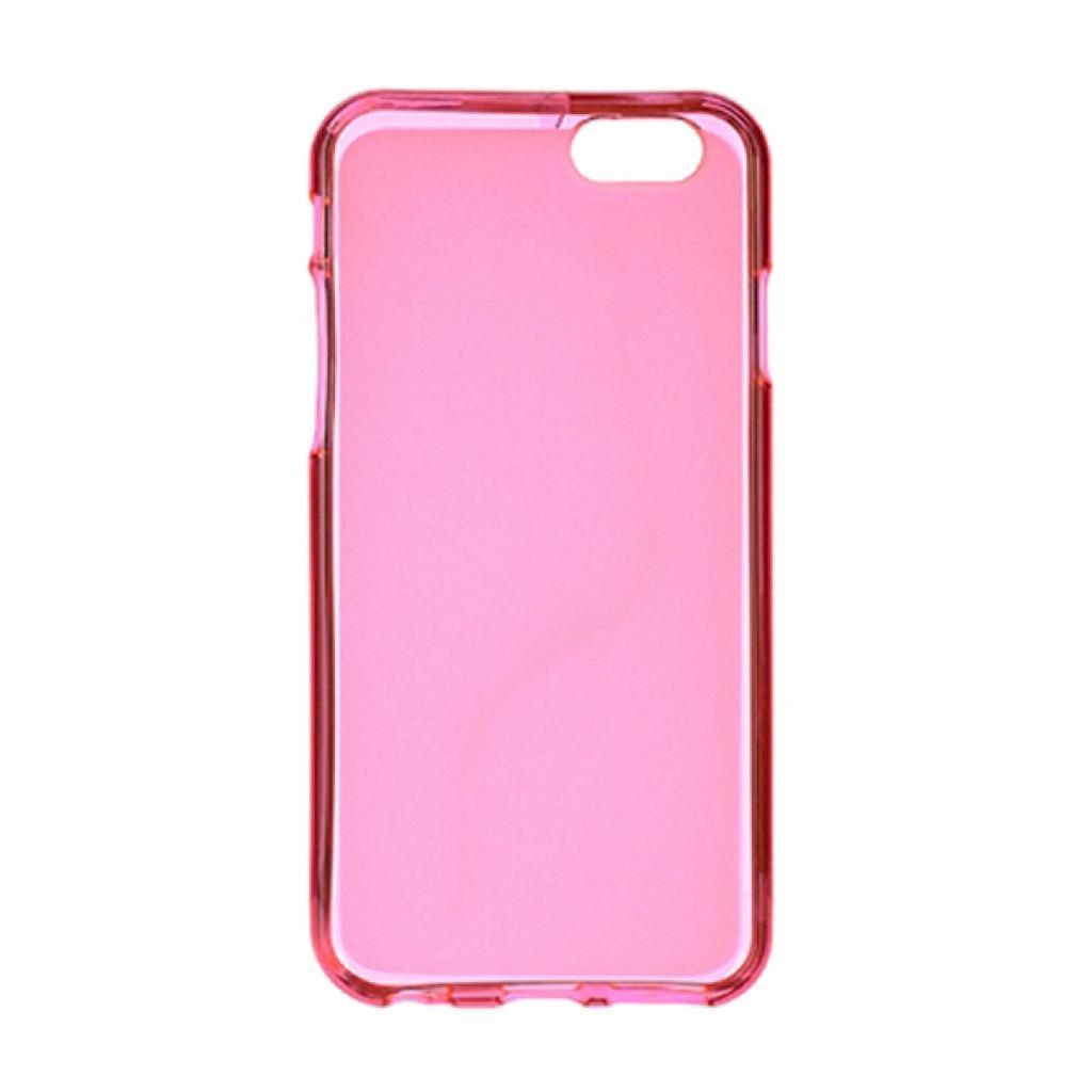 Чехол для моб. телефона Drobak для Apple Iphone 6 Pink Clear /Elastic PU/ (210288) (210288) изображение 2