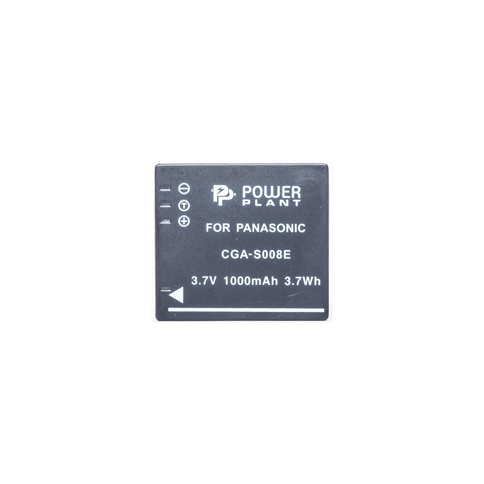 Аккумулятор к фото/видео PowerPlant Panasonic CGA-S008, DB-70, DMW-BCE10 (DV00DV1216) изображение 2
