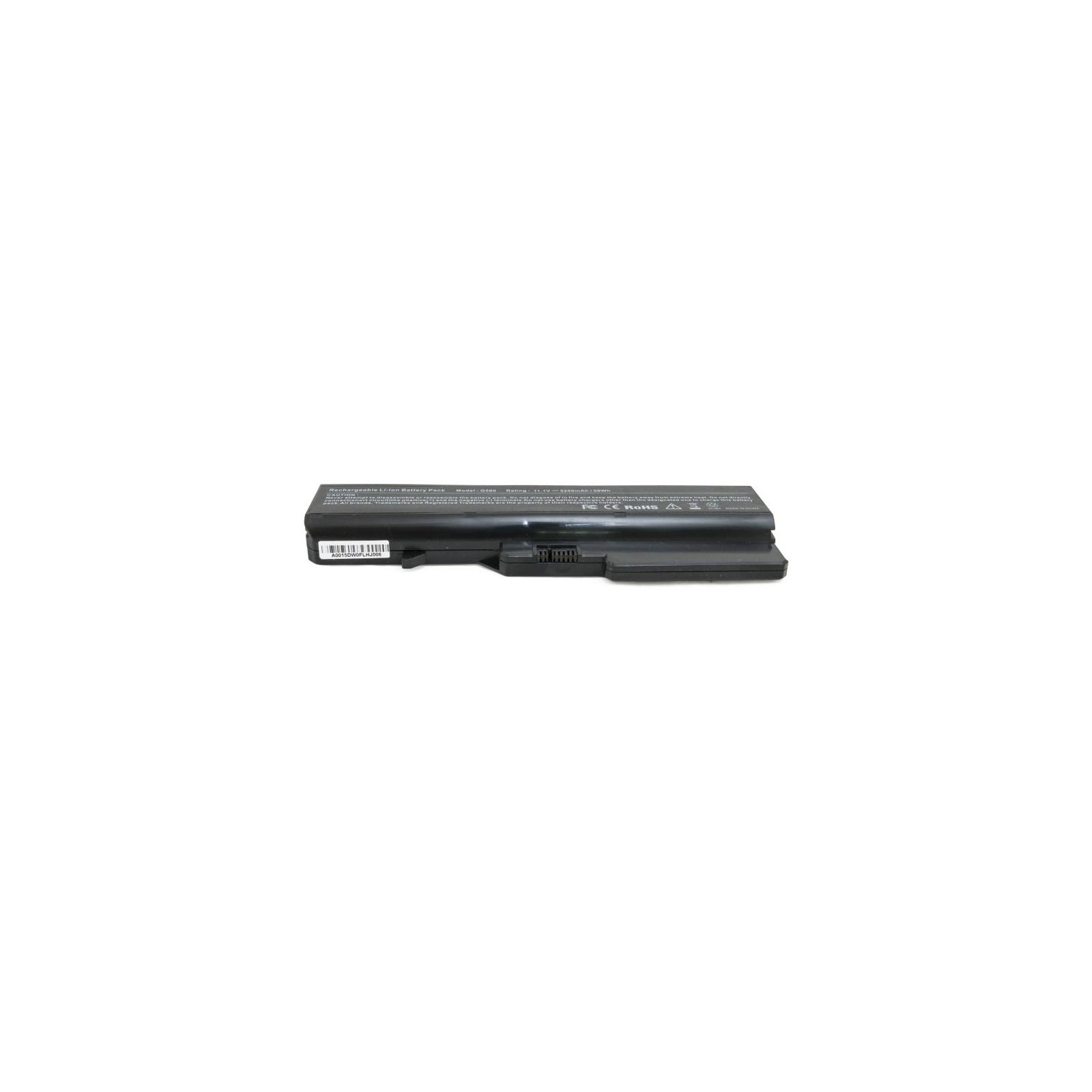 Аккумулятор для ноутбука Lenovo G560, 5200 mAh EXTRADIGITAL (BNL3954) изображение 4