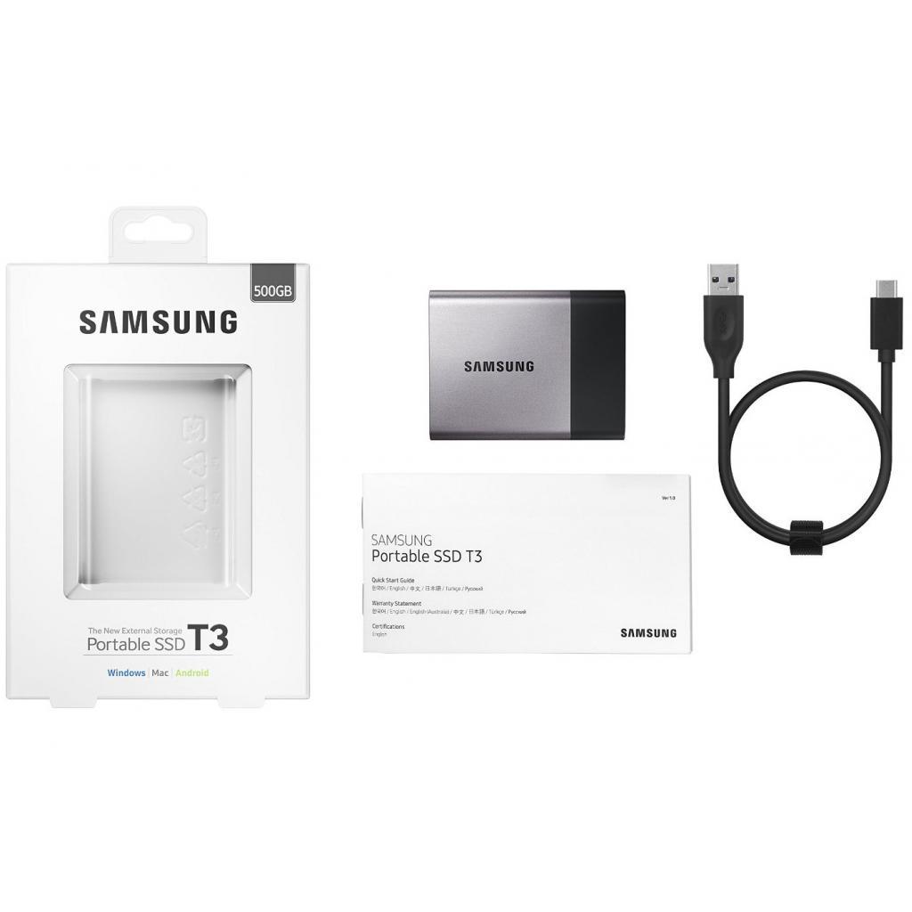 Накопитель SSD USB 3.0 500GB Samsung (MU-PT500B/EU) изображение 10