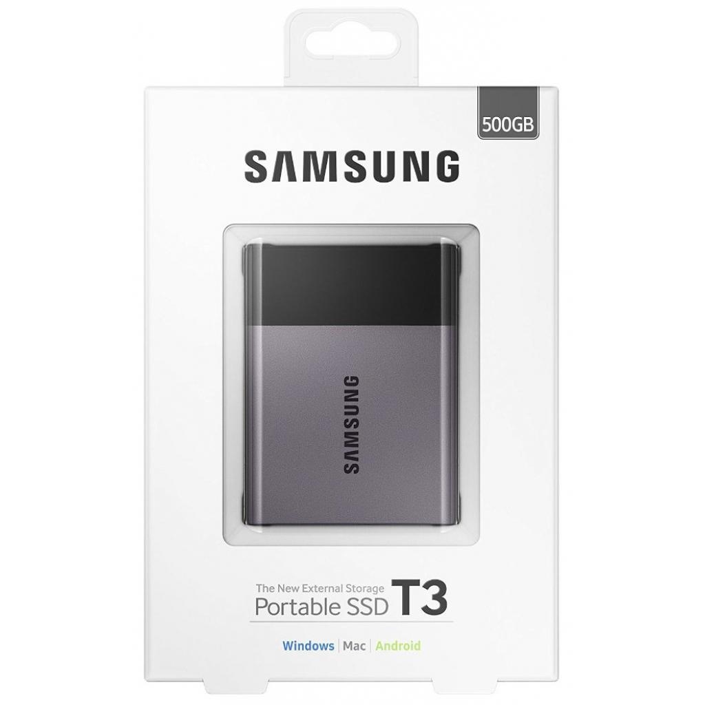 Накопитель SSD USB 3.0 500GB Samsung (MU-PT500B/EU) изображение 8