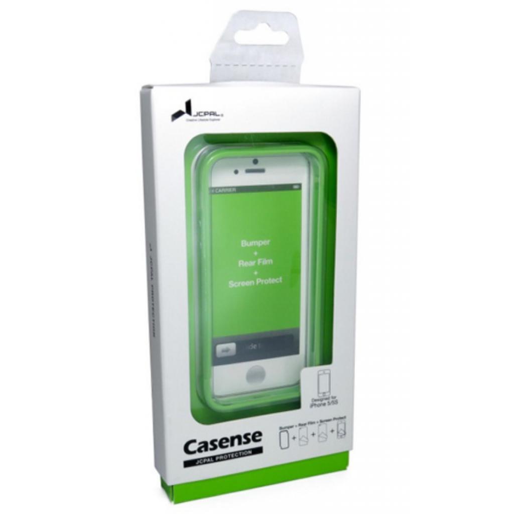 Чехол для моб. телефона JCPAL Colorful 3 in 1 для iPhone 5S/5 Set-Green (JCP3218) изображение 3
