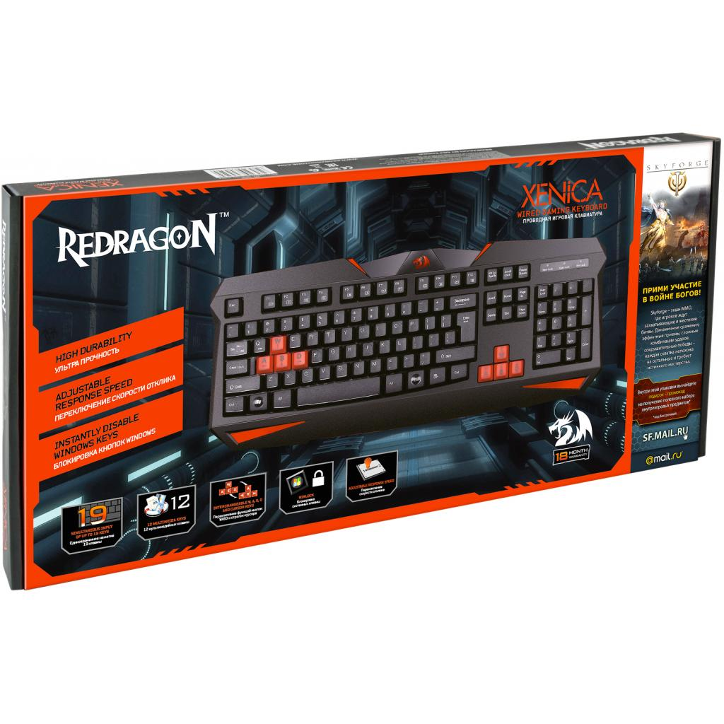 Клавиатура Redragon Xenica (70450) изображение 3