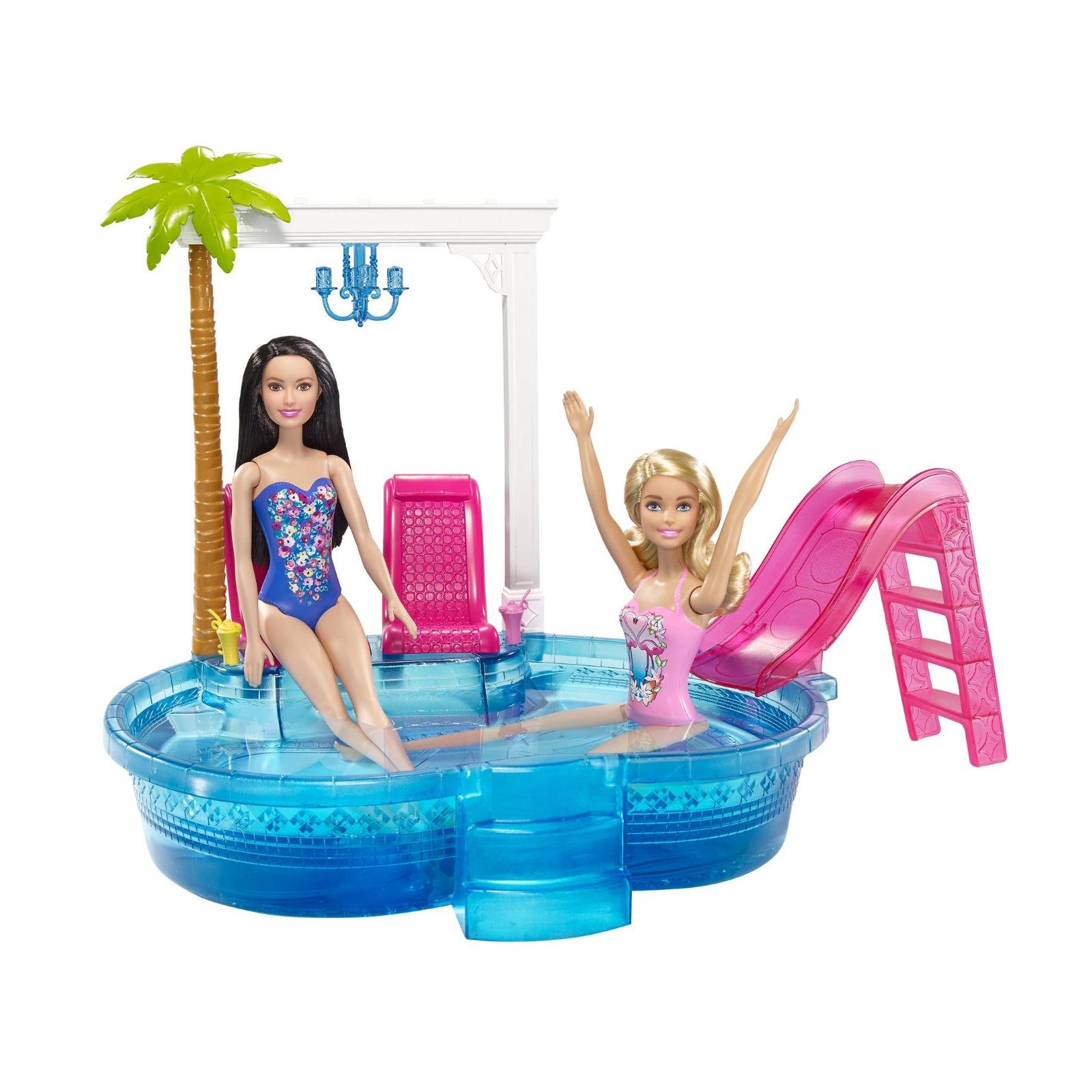 Аксессуар к кукле Barbie Гламурный бассейн (DGW22) изображение 3