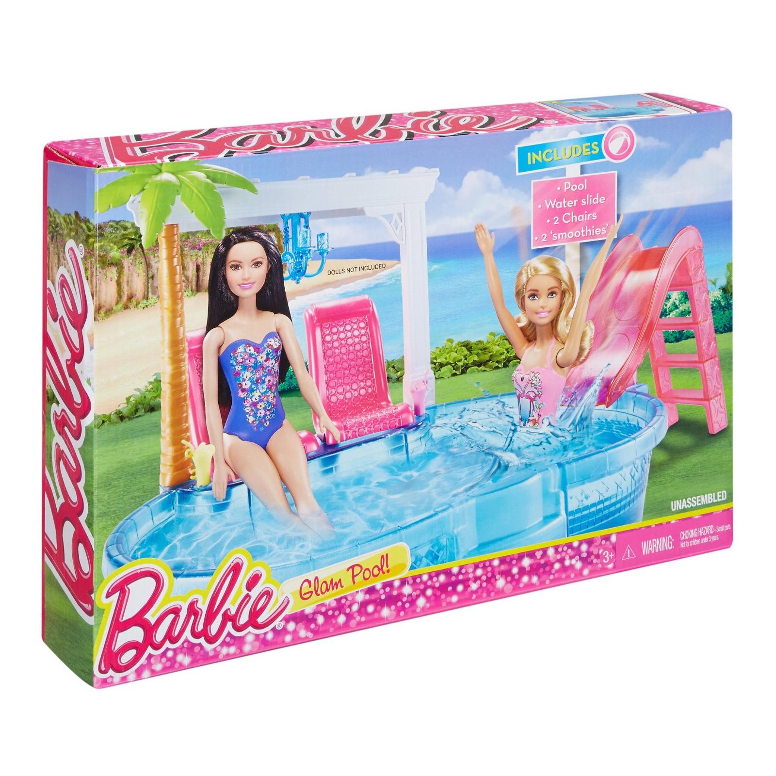 Аксессуар к кукле Barbie Гламурный бассейн (DGW22)