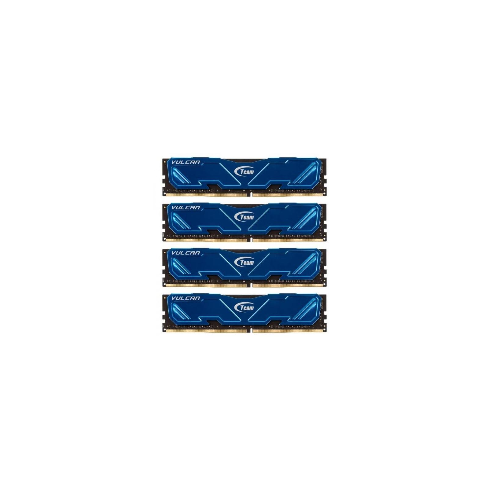 Модуль памяти для компьютера DDR4 32GB (4x8GB) 2800 MHz Vulcan Blue Team (TLBED432G2800HC16AQC01)