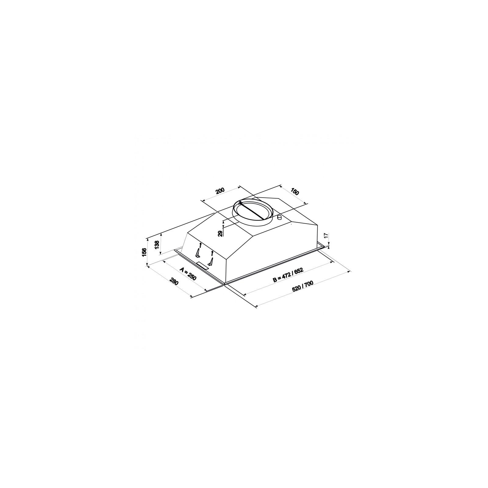 Вытяжка кухонная Eleyus Modul 700 52 IS изображение 9