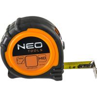 Рулетка NEO стальная лента 3 м x 19 мм, магнит (67-113)