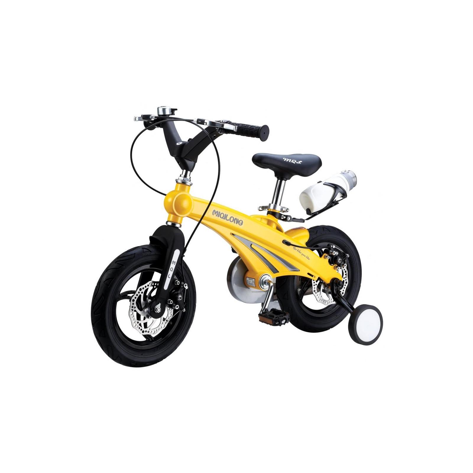 Детский велосипед Miqilong GN Желтый 16` (MQL-GN16-Yellow)