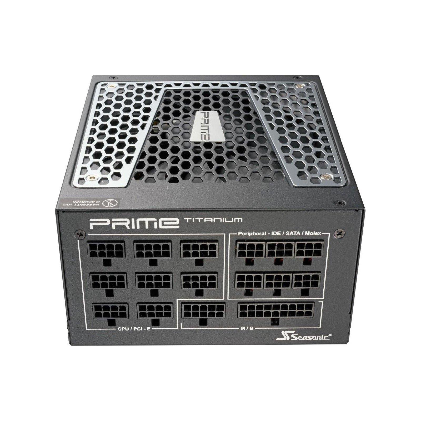 Блок питания Seasonic 850W PRIME ULTRA Titanium (SSR-850TR) изображение 3