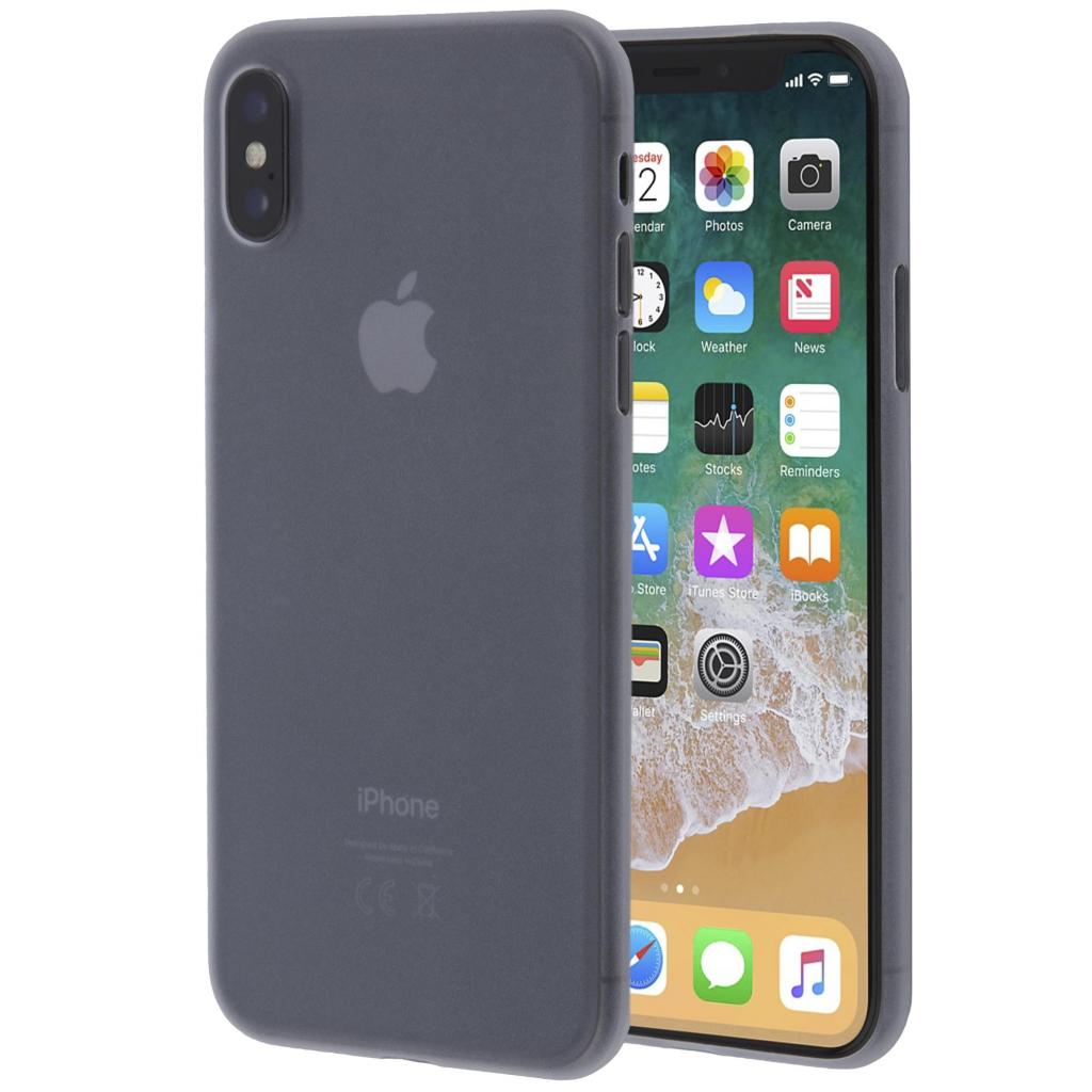 Чехол для моб. телефона MakeFuture Ice Case (PP) для Apple iPhone X White (MCI-AIXWH) изображение 2