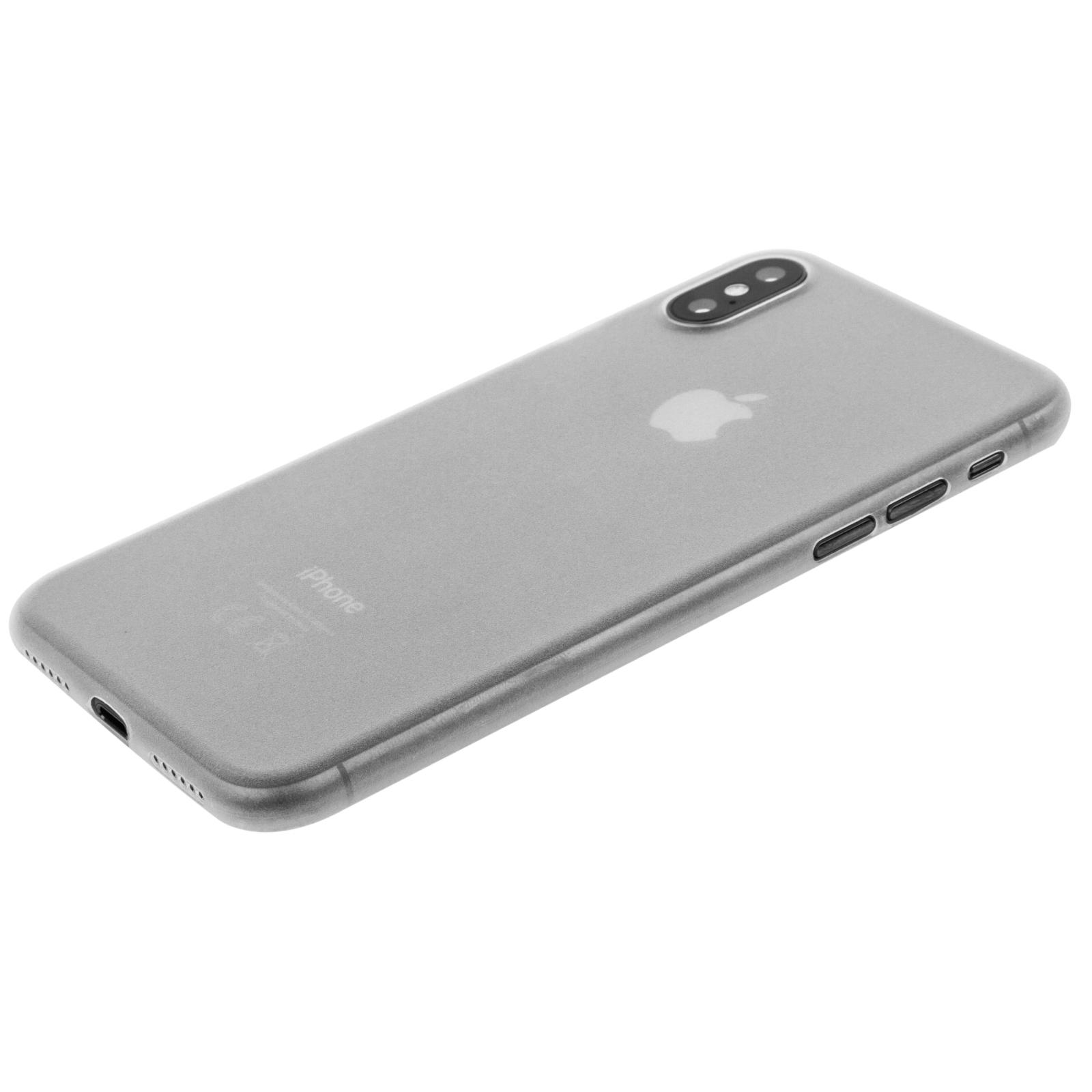 Чехол для моб. телефона MakeFuture Ice Case (PP) для Apple iPhone X White (MCI-AIXWH) изображение 3