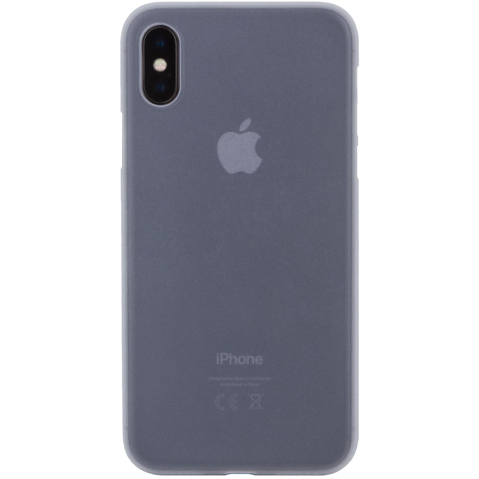 Чехол для моб. телефона MakeFuture Ice Case (PP) для Apple iPhone X White (MCI-AIXWH)