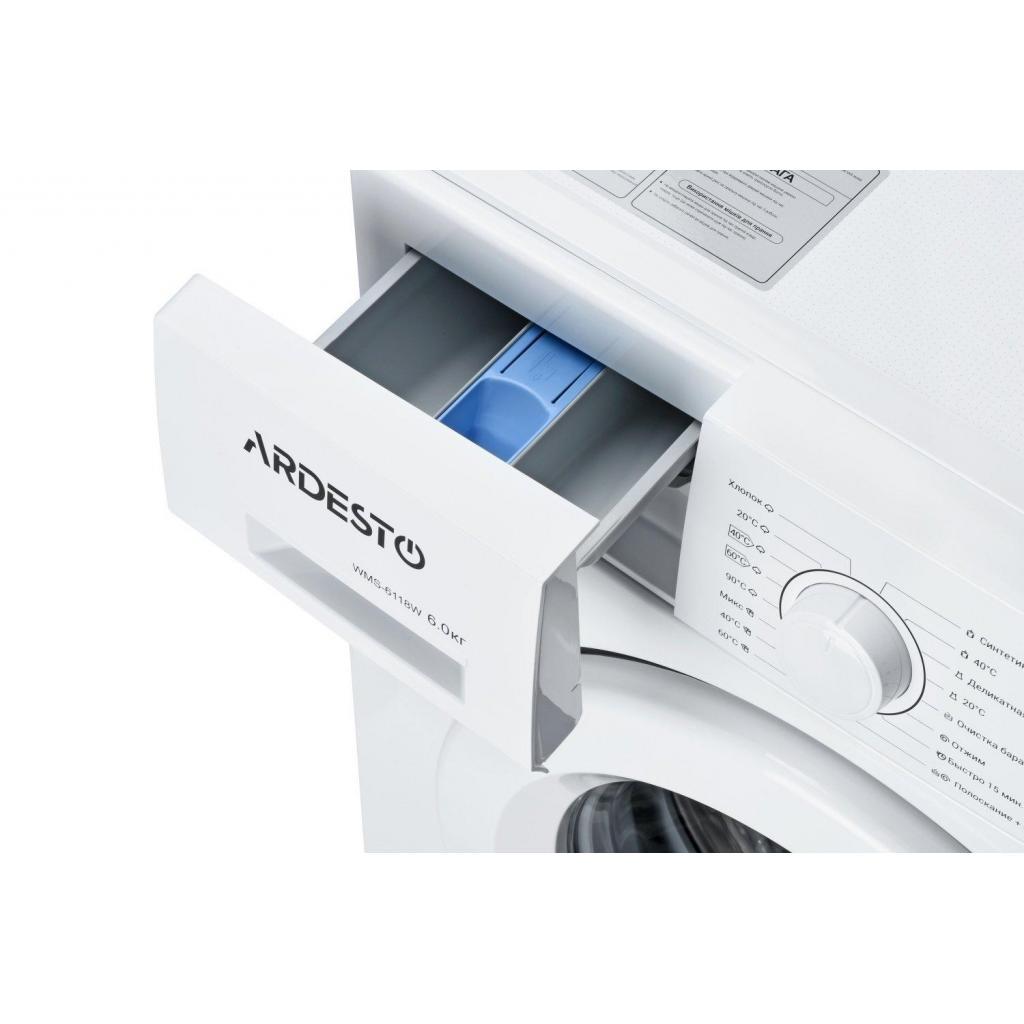 Стиральная машина Ardesto WMS-6118W изображение 4