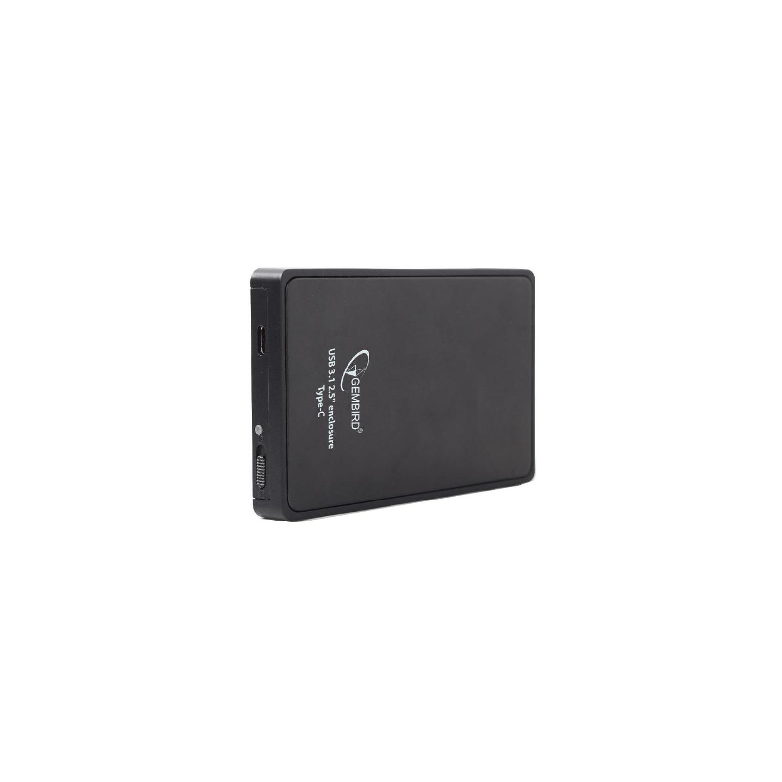 """Карман внешний GEMBIRD 2.5"""", USB3.1,Type-C, черный (EE2-U31S-1) изображение 2"""