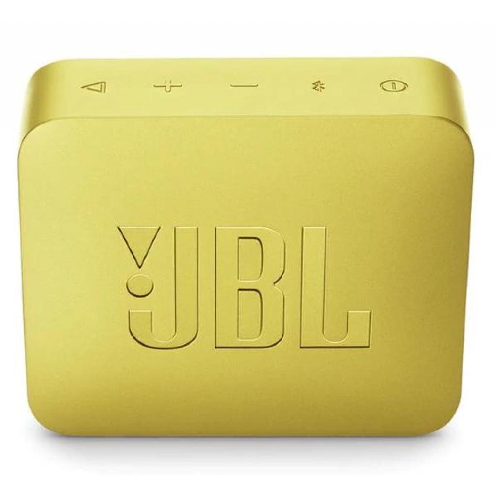 Акустическая система JBL GO 2 Yellow (JBLGO2YEL) изображение 2