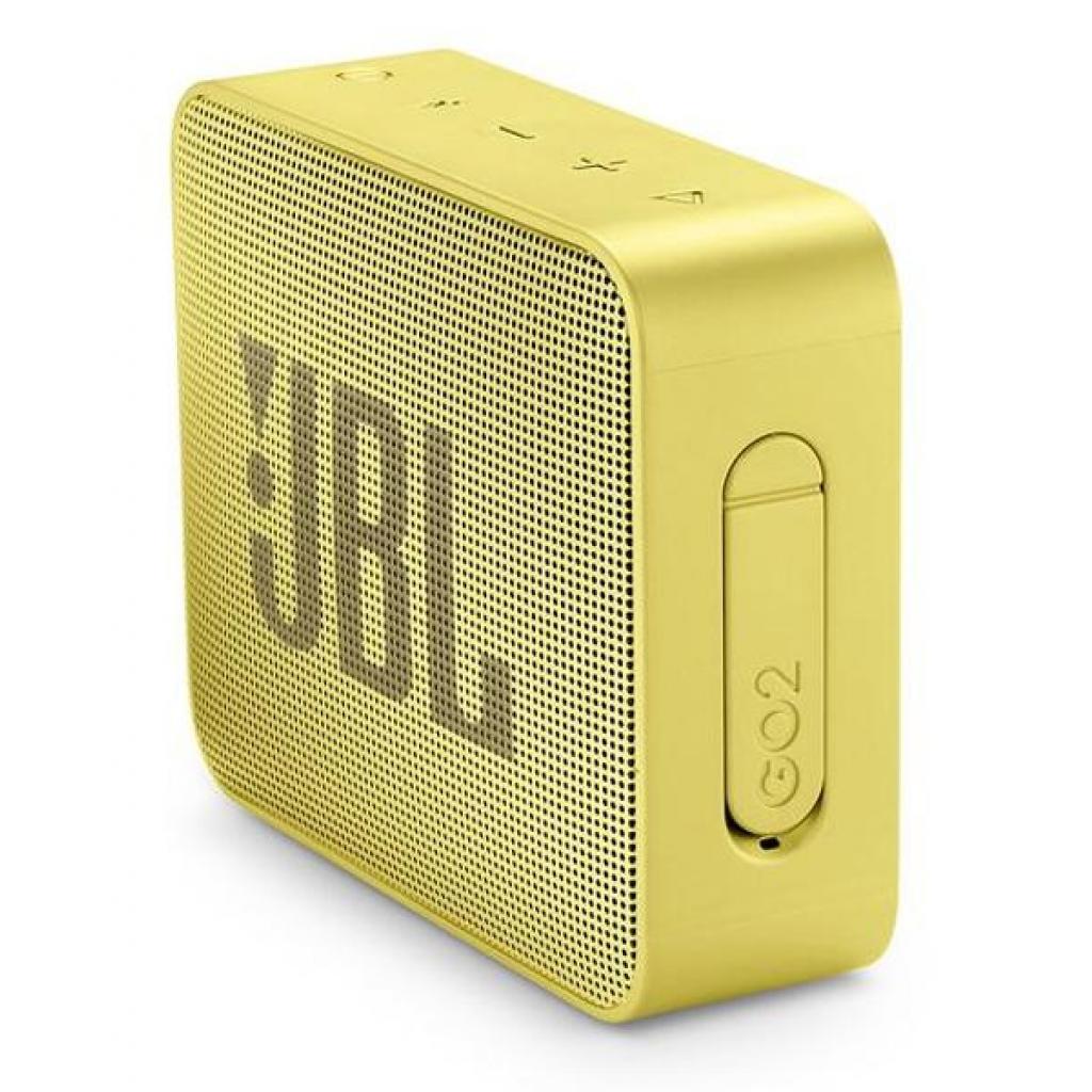 Акустическая система JBL GO 2 Yellow (JBLGO2YEL) изображение 3