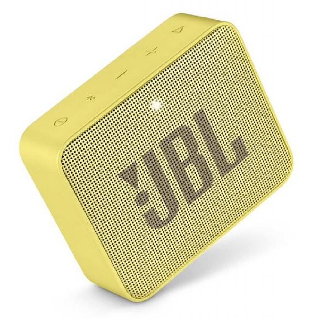 Акустическая система JBL GO 2 Yellow (JBLGO2YEL) изображение 5