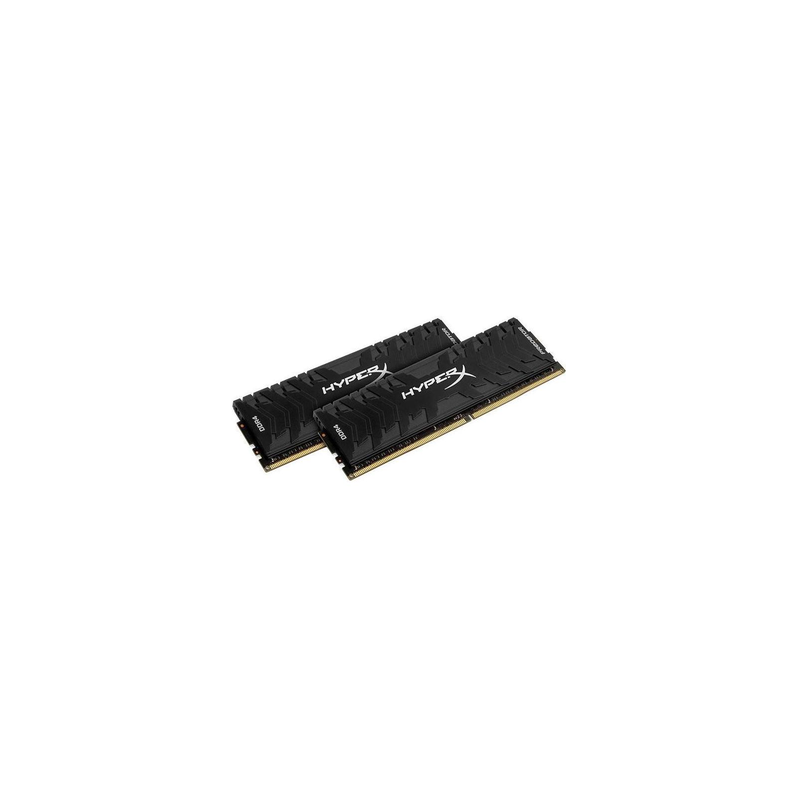 Модуль памяти для компьютера DDR4 32GB (2x16GB) 3600 MHz HyperX Predator Kingston (HX436C17PB3K2/32) изображение 2