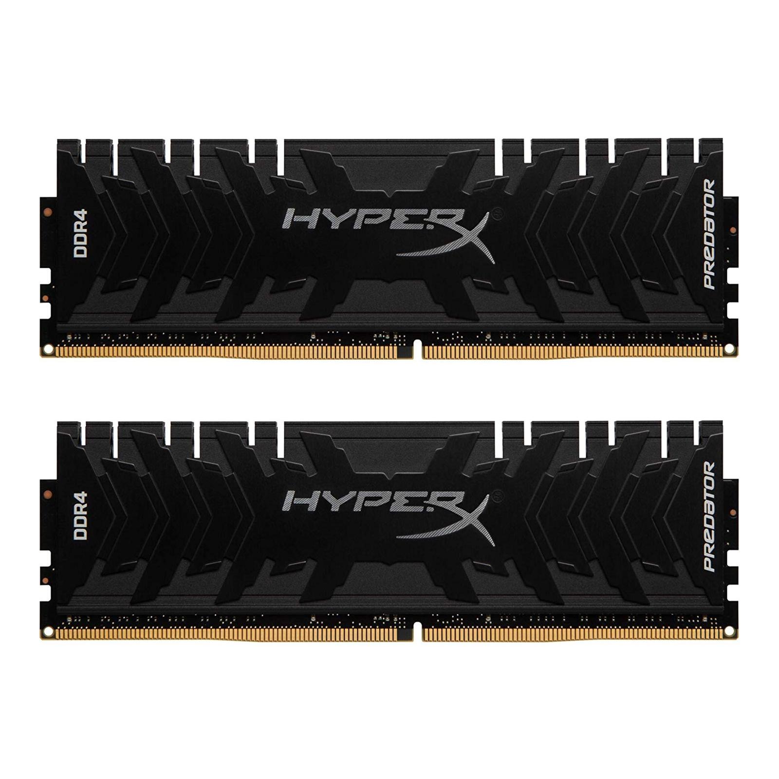 Модуль памяти для компьютера DDR4 32GB (2x16GB) 3600 MHz HyperX Predator Kingston (HX436C17PB3K2/32)