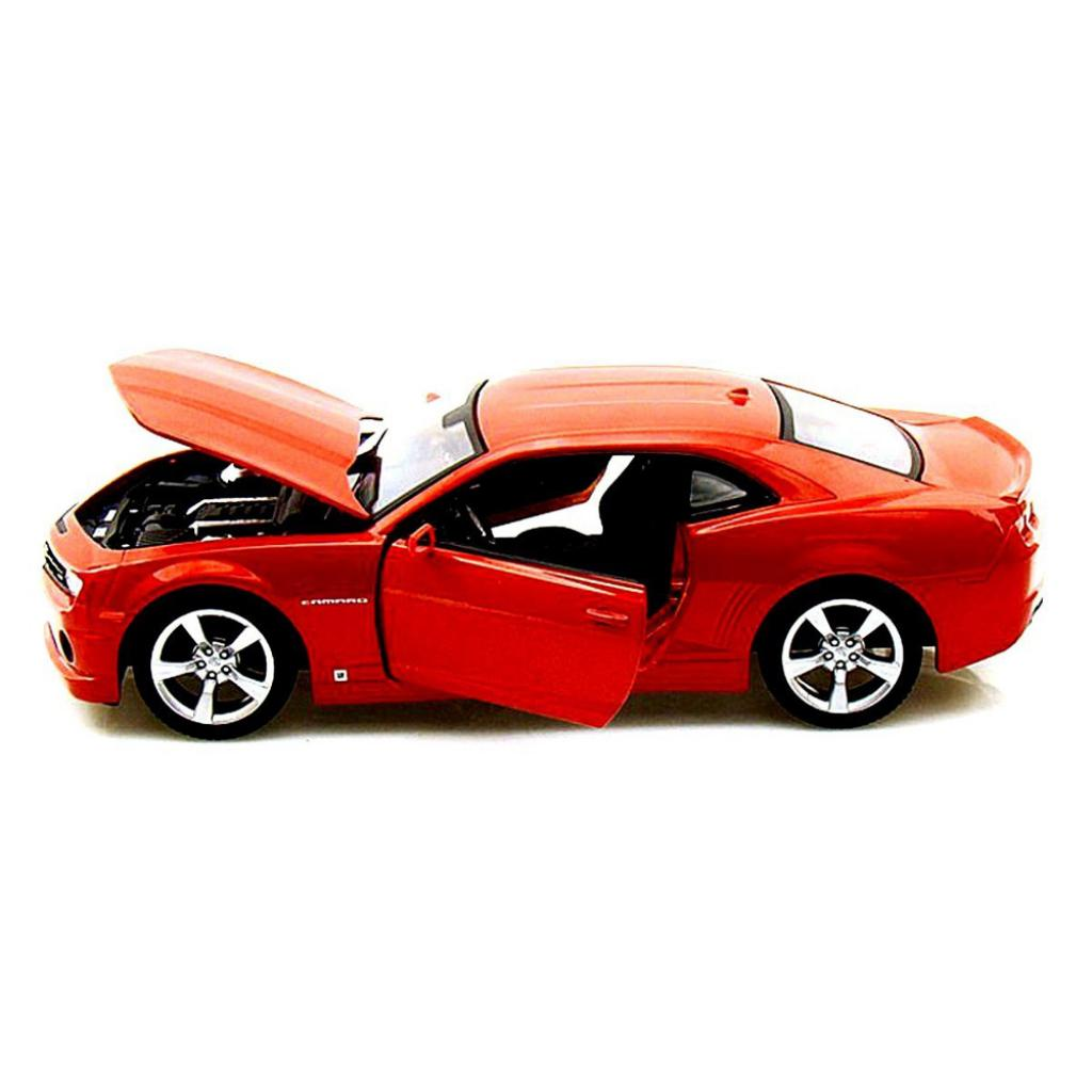 Машина Maisto Chevrolet Camaro SS RS 2010 (1:24) оранжевый металлик (31207 met. orange) изображение 3
