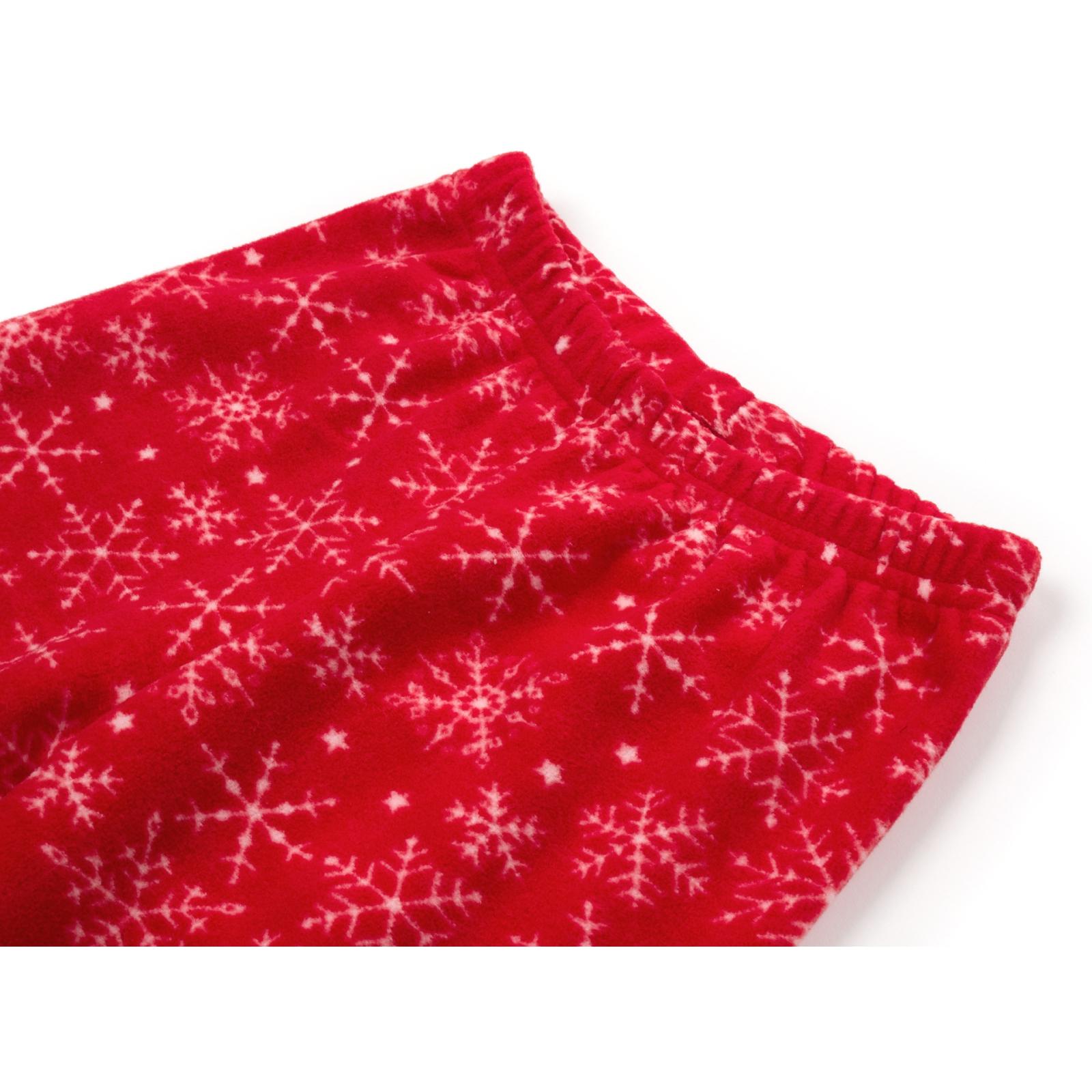 Пижама Matilda флисовая со шляпкой (9110-3-134G-red) изображение 8