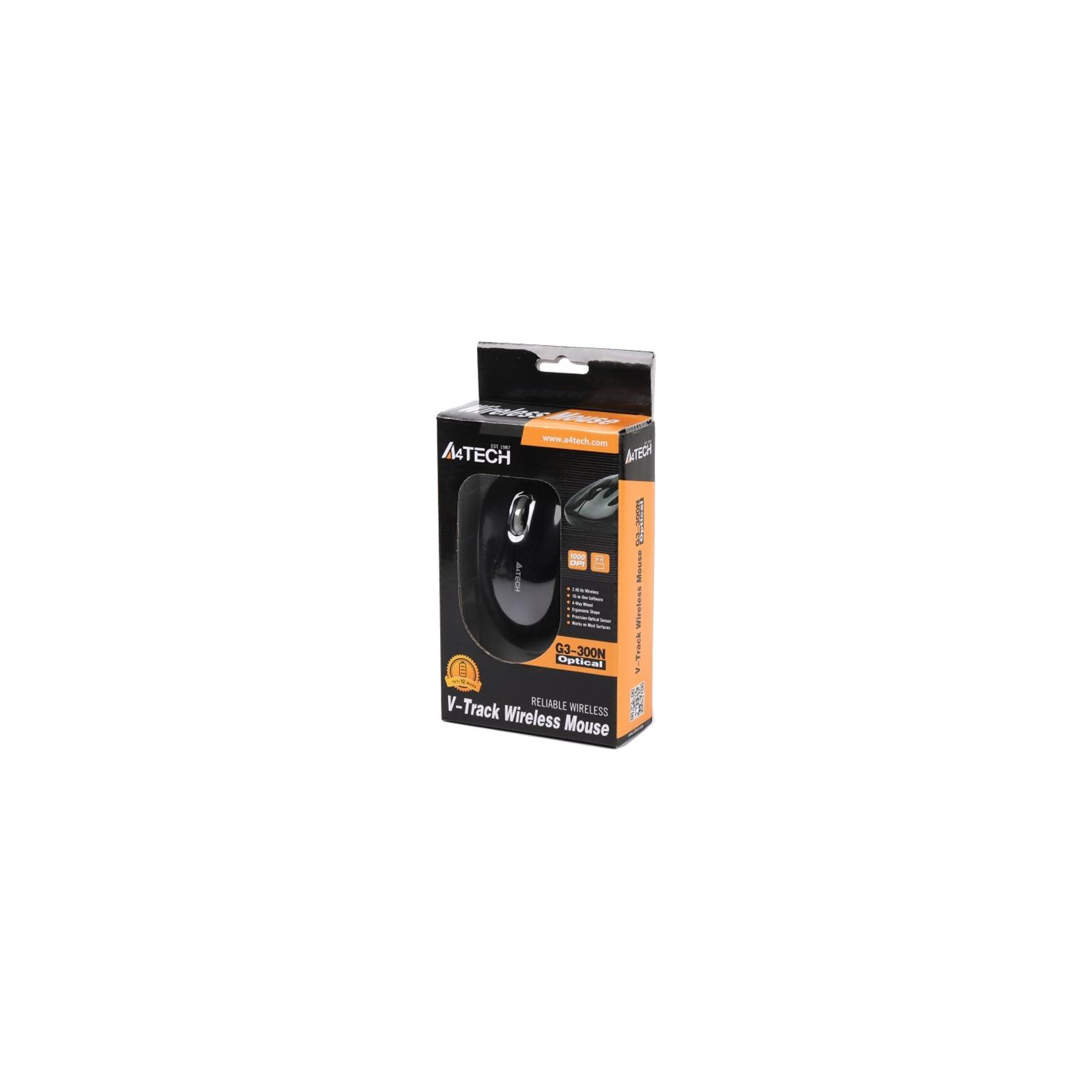 Мышка A4Tech G3-300N Black+Silver изображение 6