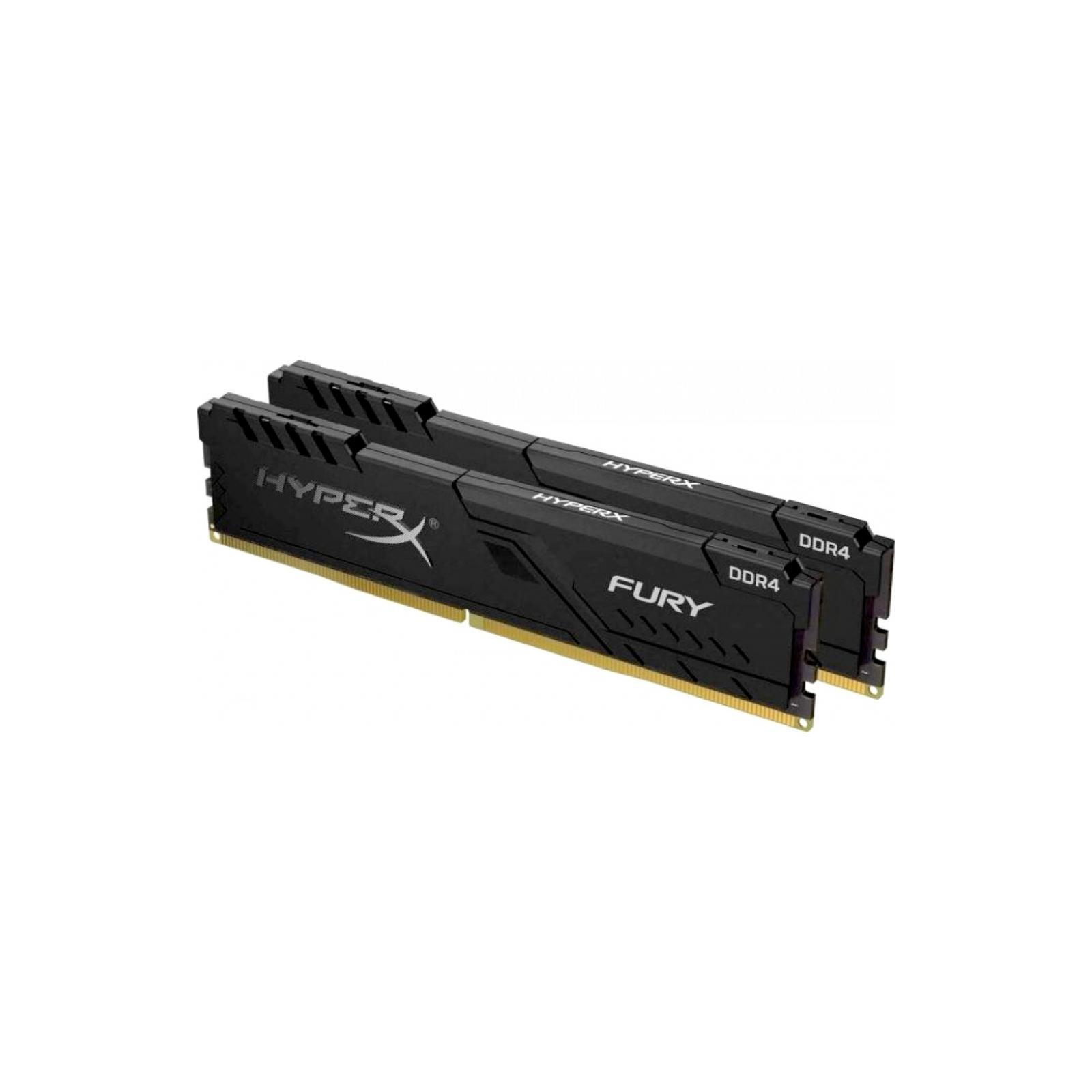 Модуль пам'яті для комп'ютера DDR4 32GB (2x16GB) 2666 MHz Fury Black Kingston (HX426C16FB4K2/32) зображення 2