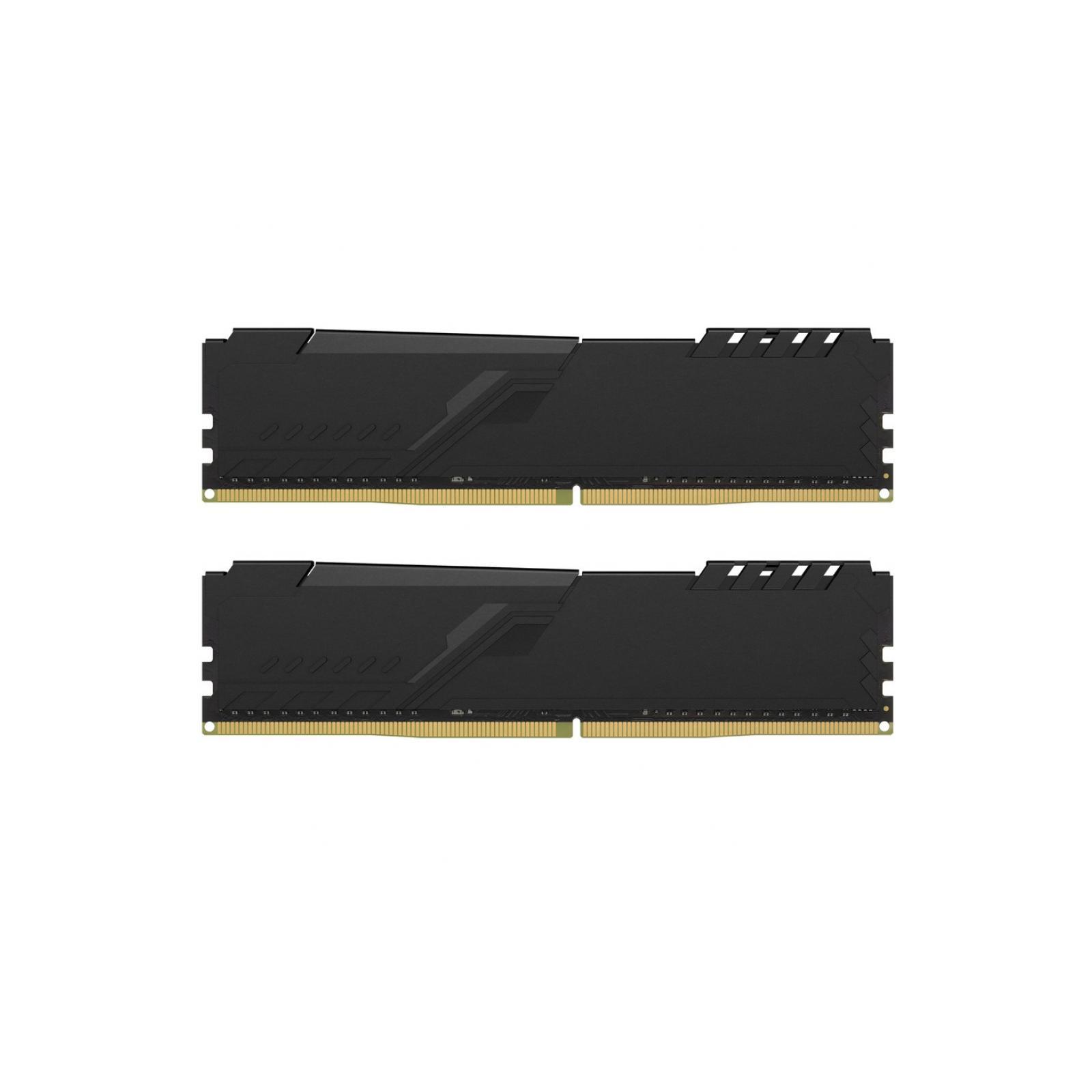 Модуль пам'яті для комп'ютера DDR4 32GB (2x16GB) 2666 MHz Fury Black Kingston (HX426C16FB4K2/32) зображення 3