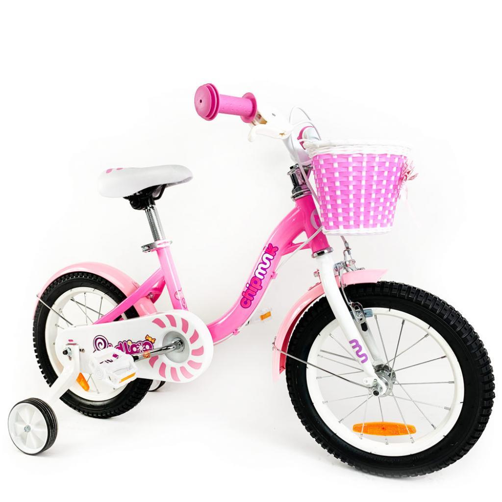 """Детский велосипед Royal Baby Chipmunk MM Girls 16"""", Official UA, розовый (CM16-2-pink) изображение 2"""