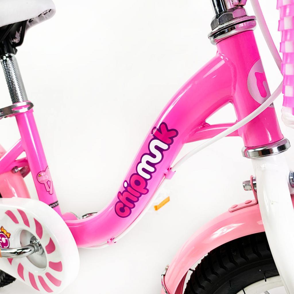 """Детский велосипед Royal Baby Chipmunk MM Girls 16"""", Official UA, розовый (CM16-2-pink) изображение 5"""