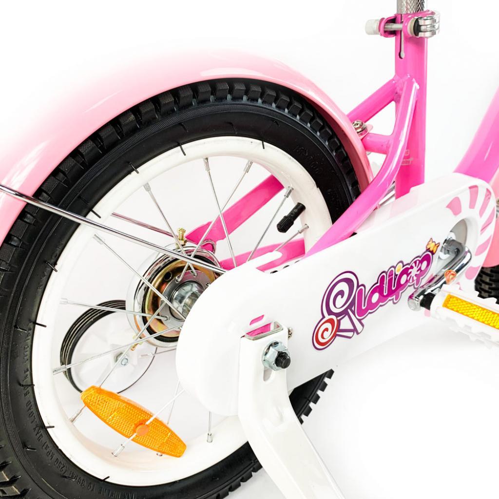 """Детский велосипед Royal Baby Chipmunk MM Girls 16"""", Official UA, розовый (CM16-2-pink) изображение 6"""