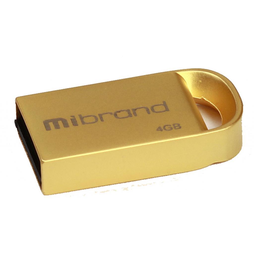 USB флеш накопитель Mibrand 16GB lynx Gold USB 2.0 (MI2.0/LY16M2G)