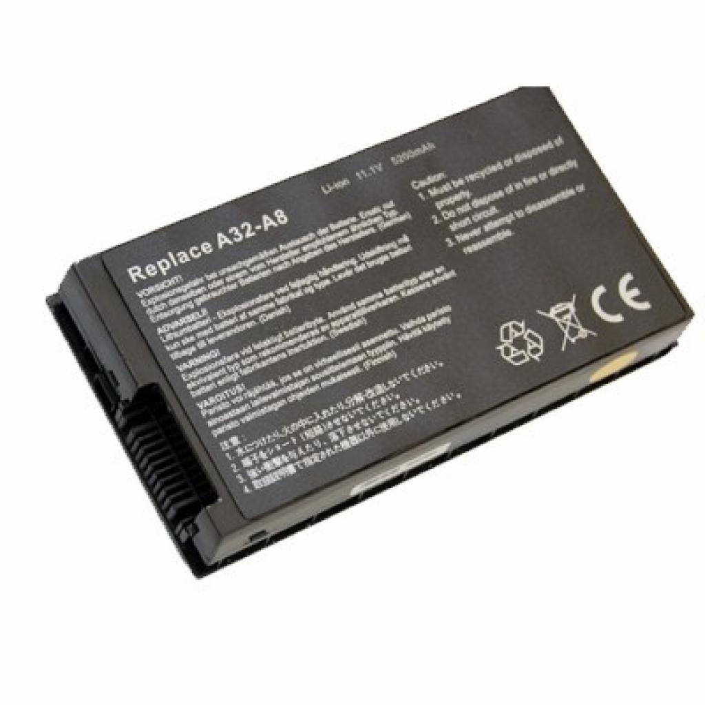 Аккумулятор для ноутбука ASUS A32-A8 Adapt (BAT07783)