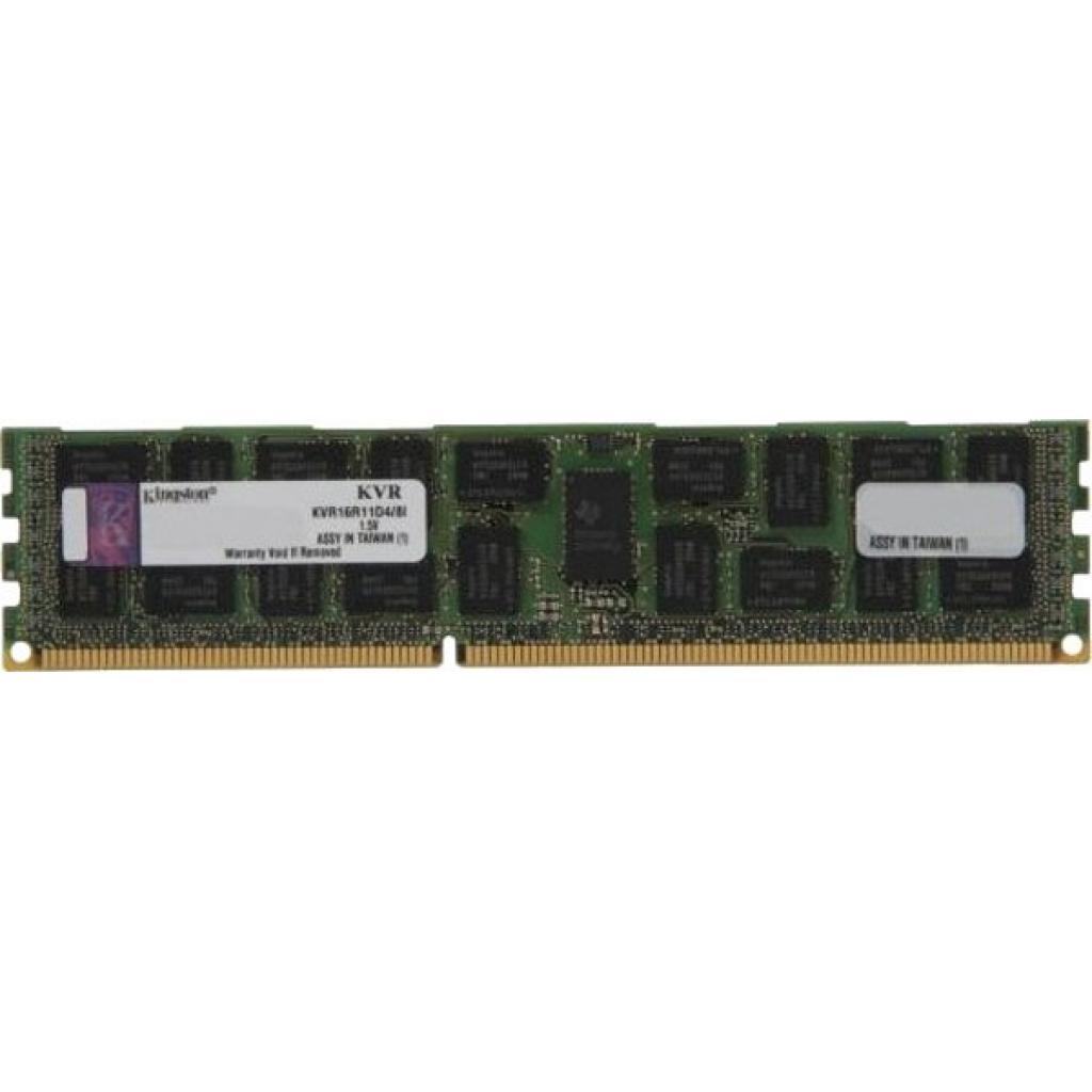 Модуль памяти для сервера DDR3 8192Mb Kingston (KVR16R11D4/8)