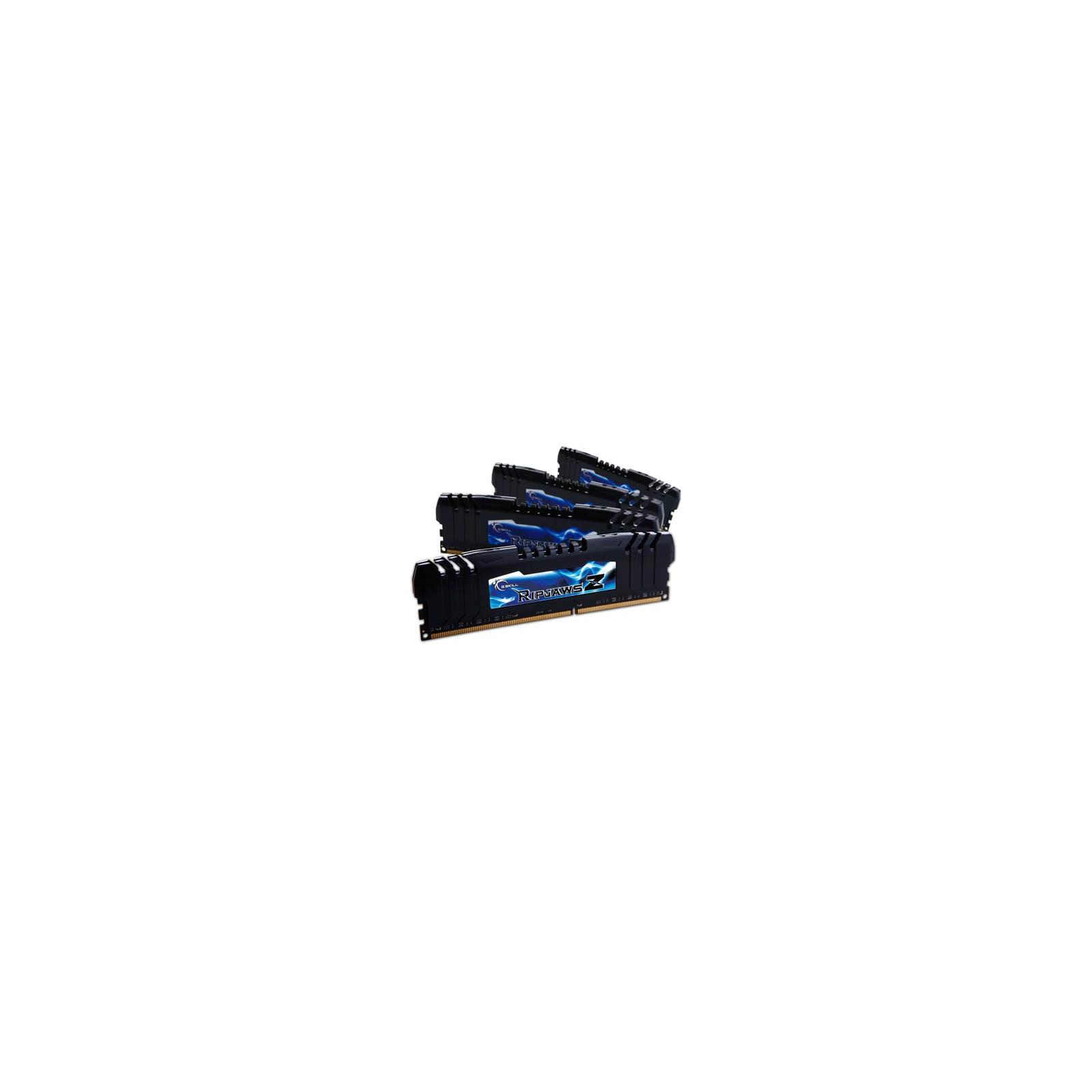 Модуль памяти для компьютера DDR3 16GB (4x4GB) 2400 MHz G.Skill (F3-2400C10Q-16GZH)
