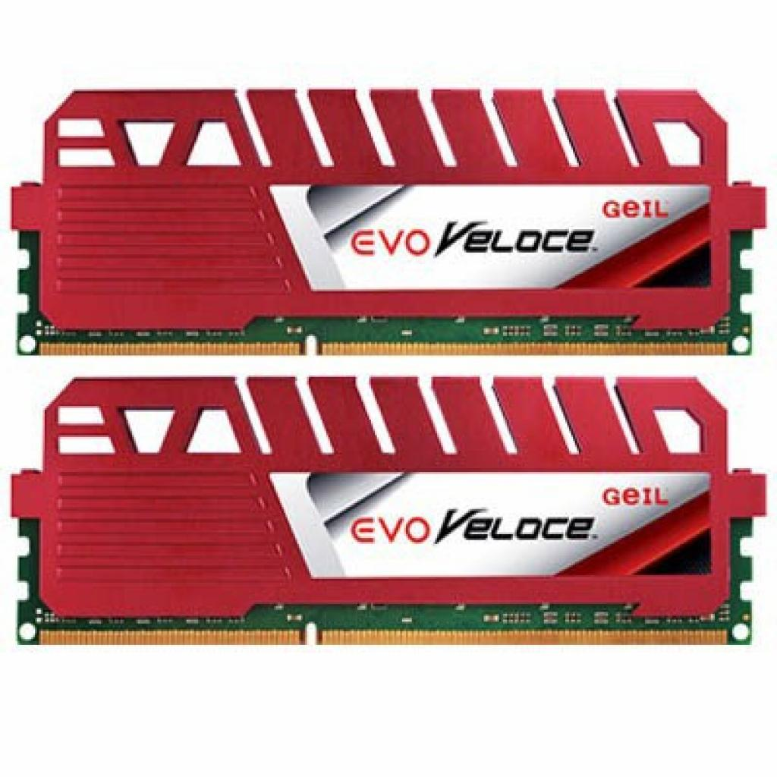 Модуль памяти для компьютера DDR3 16GB (2x8GB) 1600 MHz GEIL (GEV316GB1600C10DC)