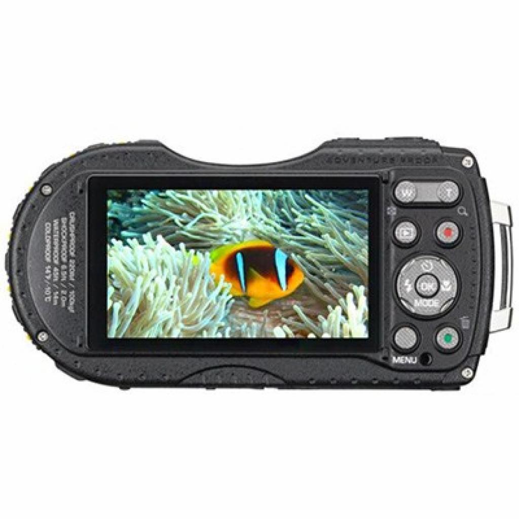 Цифровой фотоаппарат Pentax Optio WG-3 GPS black-violet (12672) изображение 3