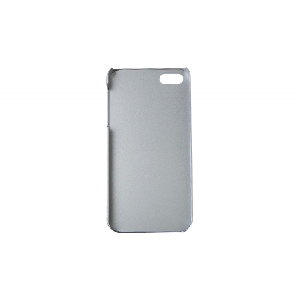 Чехол для моб. телефона Drobak для Apple Iphone 5 /Aluminium Panel Blue (210220) изображение 2