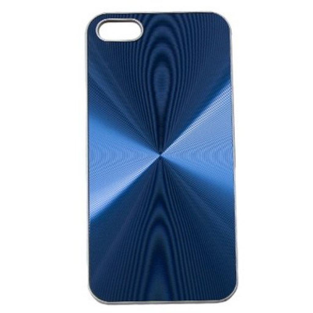 Чехол для моб. телефона Drobak для Apple Iphone 5 /Aluminium Panel Blue (210220)