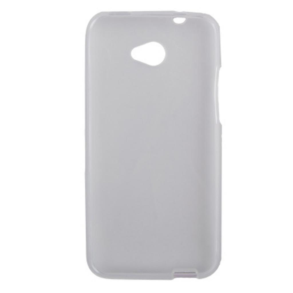 Чехол для моб. телефона Drobak для HTC Desire 601 /ElasticPU/WhiteClear (218869) изображение 2